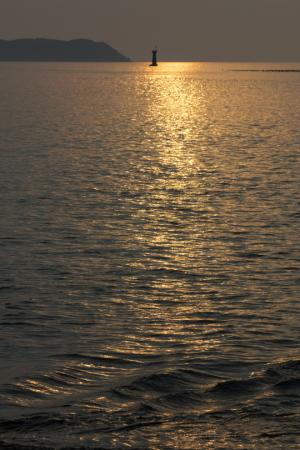 きらめく海