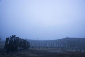 霧の機関庫