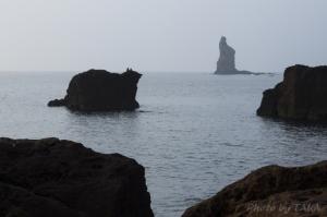 立神岩遠望